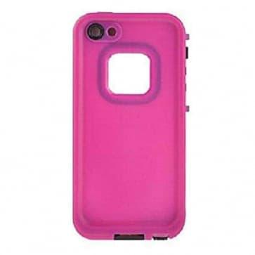 Waterproof Shockproof iPhone 5 Waterproof Protective Case - Magenta Pink