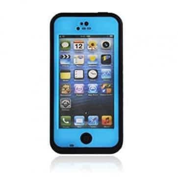 Waterproof Shockproof iPhone 5 Waterproof Protective Case - Blue