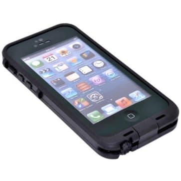 Waterproof Shockproof iPhone 5 Waterproof Protective Case - White/Grey
