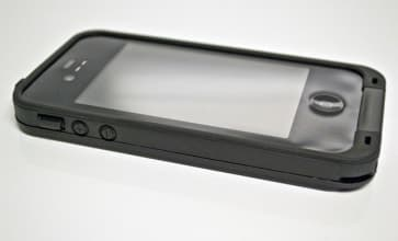 Waterproof Shockproof Case Black for iPhone 4 / 4S