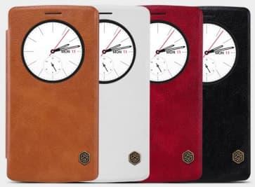 LG G4 Genuine Leather Quick Circle Case