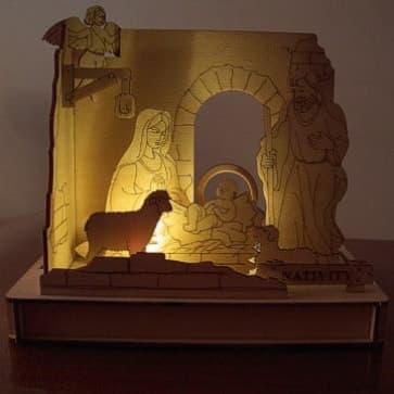 DIY Solar Kits Nativity
