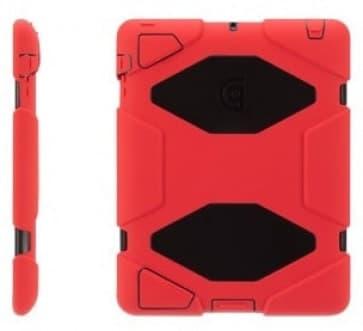 Griffin Survivor Red Black for iPad 2, iPad 3 and iPad (4th Gen)