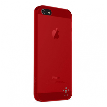 Belkin Micra Sheer Matte Case for iPhone 5 5s Ruby