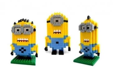 Loz Toy Nano Building Block Gift Series Minions