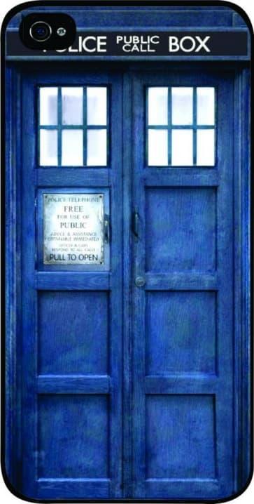 Tardis Doctor Who Police Box Time Machine iPhone 5C Case