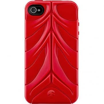 SwitchEasy CapsuleRebel Red Spine Cover for iPhone 4  4S