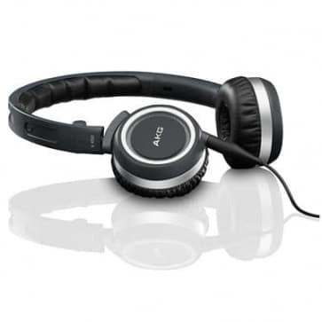 AKG K450 Over-the-Ear Premium Foldable Mini Ear-Cup Headphones