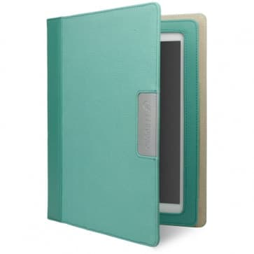 Cygnett Alumni Canvas Case for the new iPad & iPad 2 (Green Jade)