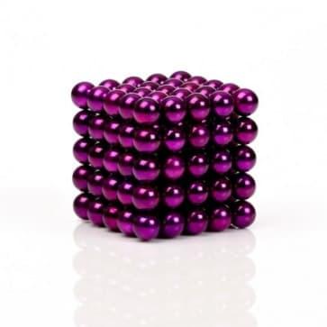 Buckyballs Chromatics 216 Purple Balls