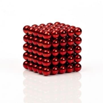 Buckyballs Chromatics 216 Red Balls