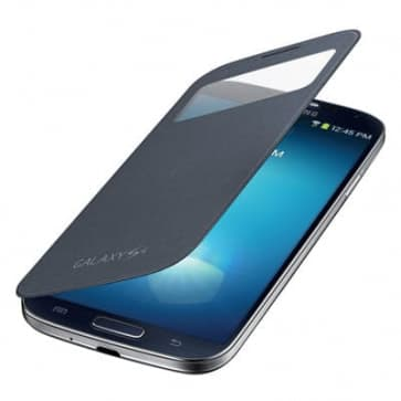 Samsung Galaxy S4 Black S-View Flip Cover