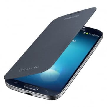 Samsung Galaxy S4 Black Flip Cover