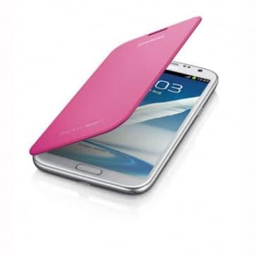 Samsung Galaxy Note II Flip Cover Pink
