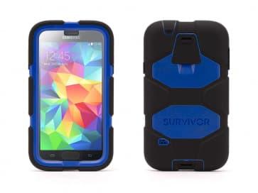 Griffin Survivor for Samsung Galaxy S5 Black Blue
