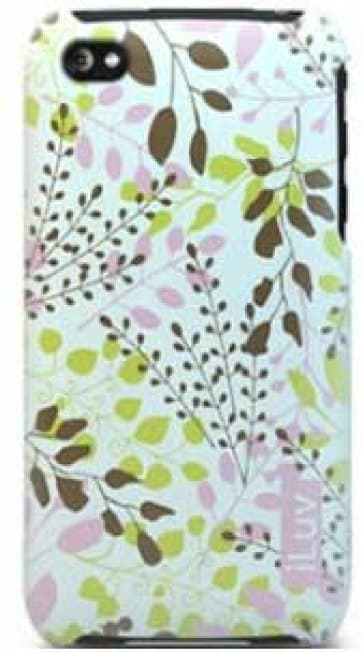 iLuv ICC736PNK Nature Soft Coated Ultra Thin Case Pink
