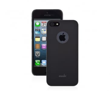 Moshi iGlaze Slim Case Black for iPhone 5