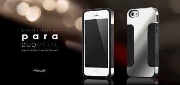 more Para Duo Metal for iPhone 5 Mercury Silver