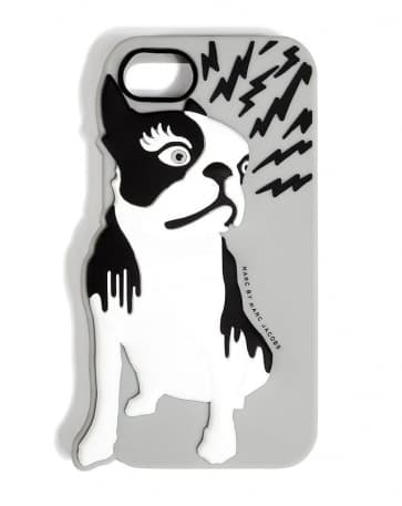 Marc Jacobs Olive Raised iPhone 5 5S Case Chromium Multi