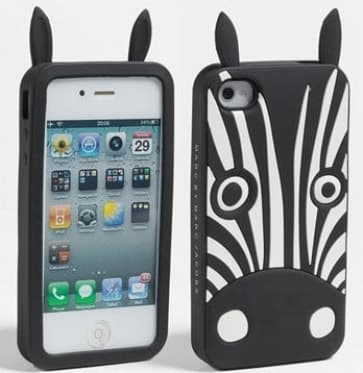 Marc Jacobs Julio the Zebra iPhone 4 and 4S Case
