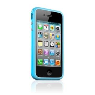 Apple Bumper Blue for iPhone 4 4S (MC670ZM/B)