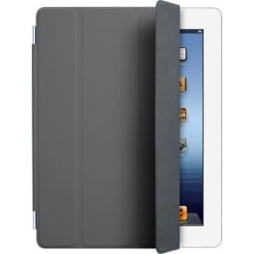 iPad Smart Cover - Polyurethane - Dark Gray
