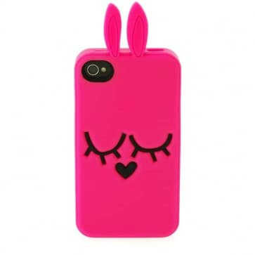 Marc Jacobs Katie the Bunny Ultra Pink iPhone 4 4S Case