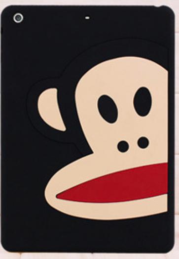 Paul Frank Silicone Case for iPad Air Half Black Monkey Zoom Julius