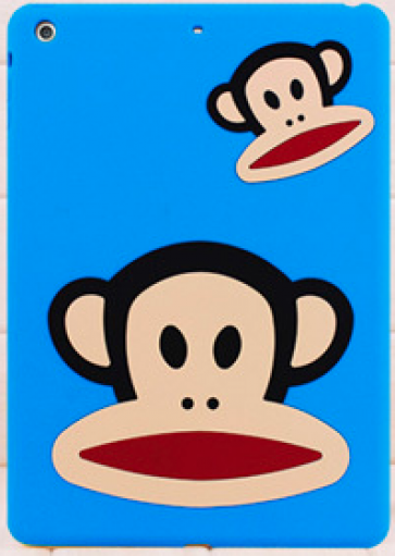 Paul Frank Silicone Case for iPad Air Blue Double Mouth Monkey Julius