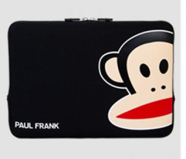 "Paul Frank Uncommon Neoprene Sleeve for Macbook Pro 11"" Black Zoom Julius"