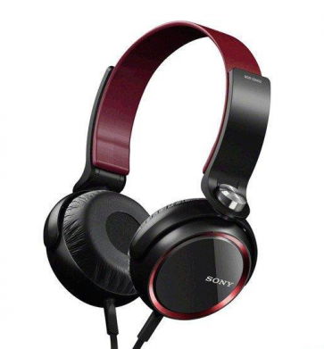 Sony MDR XB400 Red Headphones