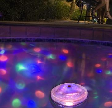 Underwater Light Show