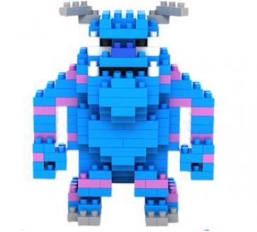 "Loz Toy Nano Building Diamond Block Gift Series ""James Sulley"" Monsters Inc"