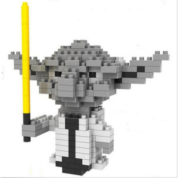 Loz Toy Nano Building Block Gift Series Yoda Star Wars