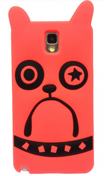 Marc Jacobs Pickles the Bulldog Orange Galaxy Note 3 Case