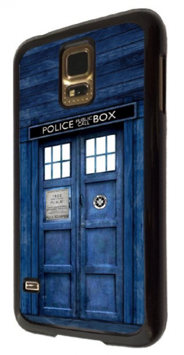 Tardis Doctor Who Police Box Time Machine Samsung Galaxy S5 Case