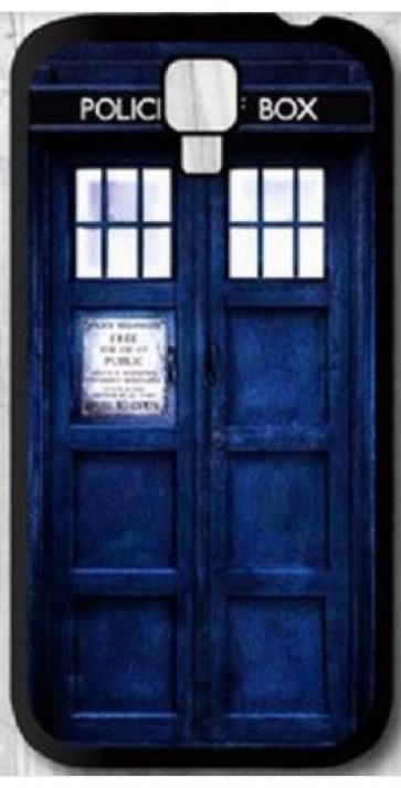 Tardis Doctor Who Police Box Time Machine Samsung Galaxy S4 Case