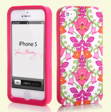 Vera Bradley Snap On Case for iPhone 5 5s Lilli Bell