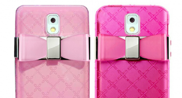 Jelly Bow Perfume Case for Galaxy Note 3