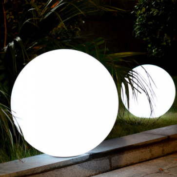 """LED Color Changing Waterproof Cordless Outdoor Light Ball 25cm 10"""""""