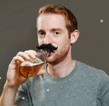 BeerMo Drink Markers Bottle Mustaches