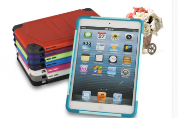 Shockproof Case with Stand for iPad Mini and iPad Mini 2 RetinaShockproof Case with Stand for iPad Mini and iPad Mini 2 Retina