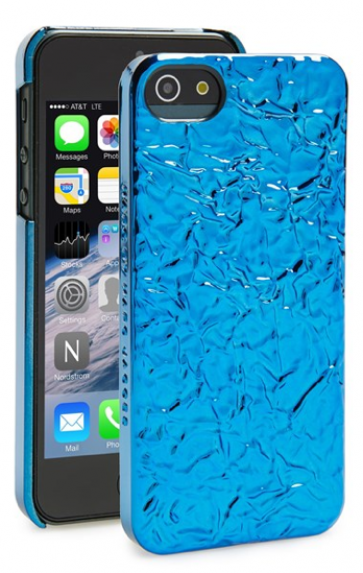 Marc Jacobs Foil Phone Case for iPhone 5 5s BlueGlow