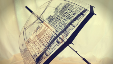 Eye Catching England Street Fashion Canopy Umbrella