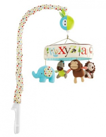 Skip Hop Alphabet Zoo Musical Crib Mobile Toy