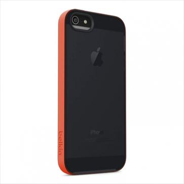 Belkin Grip Candy Sheer for iPhone 5 5s Hazard Blacktop