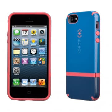Speck Candyshell Flip iPhone 5 - Harbor/Dark Harbor/Coral