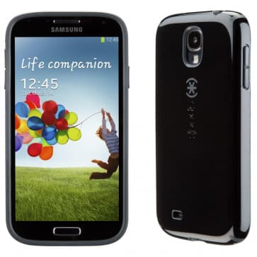 Speck CandyShell Black Slate Case For Galaxy S4