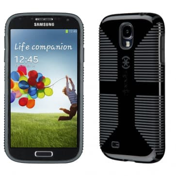 Speck CandyShell Grip for Galaxy S4 Black Slate