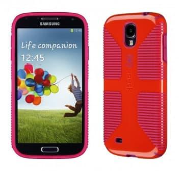 Speck CandyShell Grip for Galaxy S4 Poppy Fuchsia